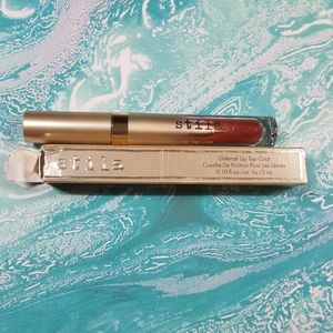 NIB Stila Glitterati Lip Top Coat - Ignite